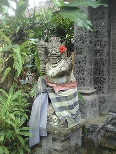 Bali is about balance among man, nature and spirit. Garden Sculpture, Bali, Spirit, Outdoor Decor, Nature, Home Decor, Homemade Home Decor, The Great Outdoors, Decoration Home