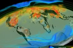 Video: NASA produces first 3D animation of global carbon emissions