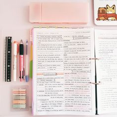 A Studyblr for the Distracted: Photo School Organization Notes, Study Organization, Nursing Organization, College Notes, College School, School Study Tips, Pretty Notes, Study Hard, Study Motivation