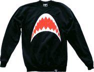 Phantom Shark Teeth sweatshirt ($34.99)