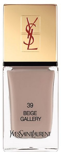 Beautiful taupe YSL nail lacquer http://rstyle.me/n/qje25nyg6