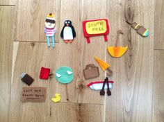 Lost and found felt story board pieces for Joseph's birthday Oliver Jeffers, Felt Stories, Business For Kids, Lost & Found, Triangle, Education, School, Birthday, Winter