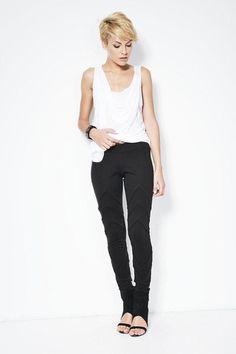 Designer Lange Leggings / Hose - MP132 von marcellamoda auf DaWanda.com