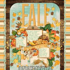 Single 112 - Fall Is in the Air by Cindy Schneider Golden Hour by Kristin Cronin-Barrow