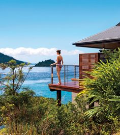 Relais & Chateaux - Situated on the secluded northern-most tip of Hamilton Island, qualia is owned by Bob Oatley, a winemaker and award-winning sailing enthusiast who is passionate about showcasing his country's superb natural beauty. Qualia, AUSTRALIA #relaischateaux #landscape