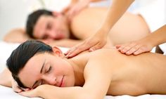 Groupon - $ 69 for a Couples Massage Package at Xscape Massage & Spa ($196 Value) in Suwanee. Groupon deal price: $69