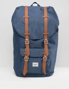 Shop Herschel Supply Co Little America Backpack at ASOS. Mesh Backpack, Laptop Backpack, Herschel Supply Co, Trend Fashion, Bradley Mountain, Laptop Sleeves, Nordstrom, Backpacks, Shoe Bag