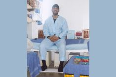 ImamSiddique Abdullah Hasan sits on his bunk in his cell on death row at the Ohio State Penitentiary (Photo from Free Ohio Movement)