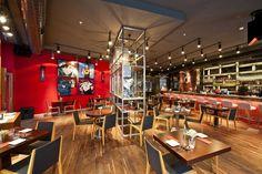Rixos Pera içerisinde Jack Russell, hem dekorasyonu hem de başarılı menüsüyle İstanbul'un en gözde lezzet duraklarından biri olmaya aday