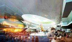 Emmen Theatre and Zoo Entrance / Henning Larsen Architects and Van den Berg Groep