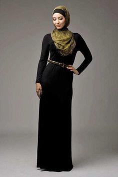 Black Jersey Abaya- Hijab House Online Australia