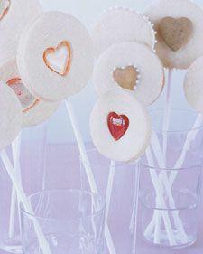 Valentine Heart Pops - Martha Stewart Recipes