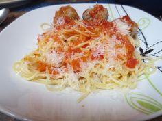 Spaghetti mit Hackbällchen von www.Landhaus-rezepte.de