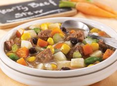 Vegetable Beef Soup #Nutrisystem
