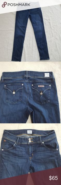 [Hudson] Collin Skinny Jeans Flattering pair of Hudson jeans in great used condition. Has back pocket w/ flaps.   Open to offers! Bundle and save 20%! Hudson Jeans Jeans Skinny