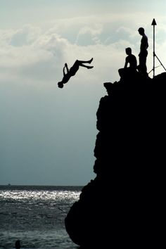 #Aroundtheworld #Cliffjumpingspots some look safer than others #bucketlist keep clicking til you get to afar.com