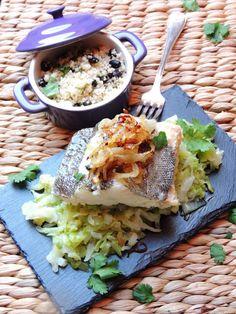 Minutos com os tachos: O bacalhau adormecido nas suas couves, aperaltado com a sua cebola e acompanhado por um estrangeiro.