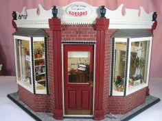 Mushnik's Florist, Based on the flower shop from the movie Little Shop of Horrors starring Rick Moranis, Front view.