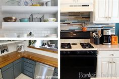 DIY kitchen ideas from faux painting to a budget countertop