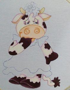 Pintura en Tela   Cara Vaca   1