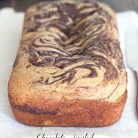 Chocolate Swirled Pumpkin Zucchini Bread
