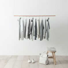 Simple wardrobe organization