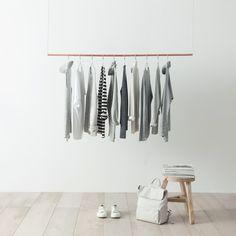 Simple wardrobe organization