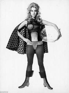 Jane Fonda in Barbarella, by Roger Vadim, costumes by Paco Rabanne ;)