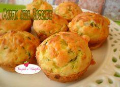 I muffin alle zucchine sono veramente semplicissimi da preparare...ottimi per un buffet salato o un picnic piaceranno proprio a tutti!