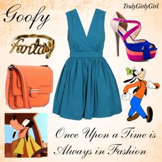 Disney Style: Goofy, created by trulygirlygirl on Polyvore