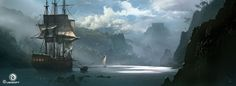 Martin Deschambault is a senior concept artist at Ubisoft Montreal. The last time we gave him his own feature on Fine Art was for an Assassin's Creed game, so let's not go changing things just for the sake of change.