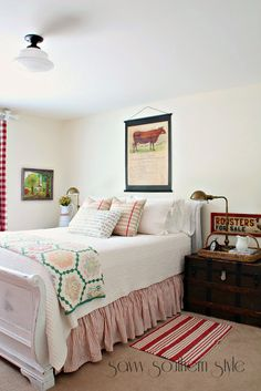 Image result for farmhouse style bedding