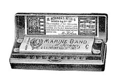 harmonica. From Sousa Band to Marine Band.