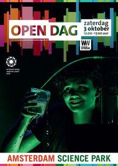 Open Dag | Amsterdam Science Park - Zaterdag 3 oktober 2015.