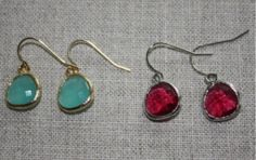 Earrings | Mango's Jewelry Box, simple, pretty and inexpensive!