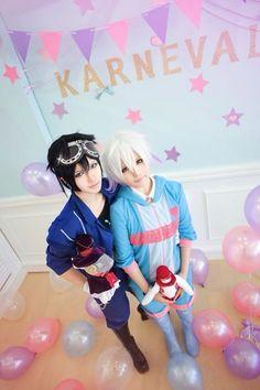 Karneval Gareki & Nai cosplay