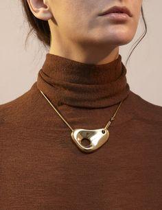 Leigh Miller Pebble Necklace #cartonmagazine