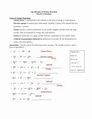 50 Nuclear Decay Worksheet Answers Key In 2020 With Images