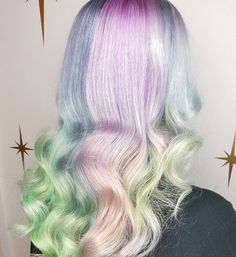 Transform into a mystical unicorn by switching up your hairstyle and colour! See our favourite magical unicorn hair images from Instagram for inspiration! | All Things Hair - From hair experts at Unilever