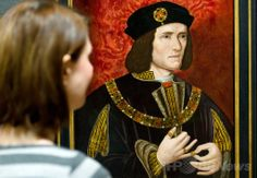 英ロンドン(London)市内中心部ナショナル・ポートレート・ギャラリー(National Portrait Gallery)に展示されている、中世のイングランド王リチャード3世(Richard III)を描いた作者不詳の肖像画(2013年1月25日撮影、資料写真)。 (c)AFP/Leon Neal ▼25May2014AFP|リチャード3世はレスター大聖堂に再埋葬を、英裁判所が判決 http://www.afpbb.com/articles/-/3015847 #National_Portrait_Gallery #Richard_III