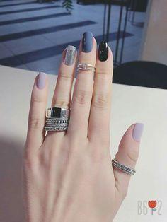 25 Elegant Nail Designs to Inspire Your Next Mani - Major Mag Elegant Nail Designs, Elegant Nails, Stylish Nails, Trendy Nails, Nail Art Designs, Love Nails, Fun Nails, Nails Polish, Nagel Gel