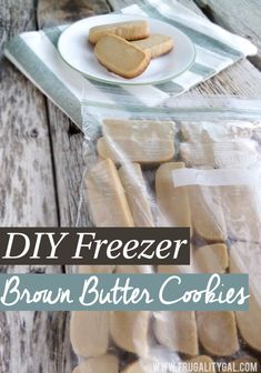 Make and freeze cookie dough in advanced. Pop a few out of the freezer and bake when a sweet tooth strikes.  Fresh baked cookies each time without all the work! :-)