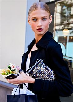 What the F*** Are Omegas & Why Should We Care? Omegas help stimulate skin and hair growth. lead to smoother, younger-looking skin wit. Anna Selezneva, Strong Hair, Younger Looking Skin, Parisian Style, Runway Models, Helmut Lang, Hair Growth, Makeup Looks, Fitness Models