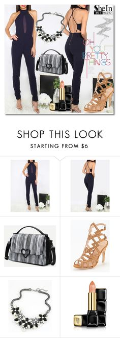 """""""1/12 shein"""" by fatimka-becirovic ❤ liked on Polyvore featuring Guerlain and NYX"""