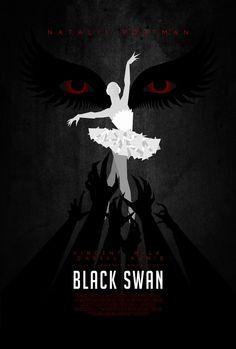 Black Swan poster by ~drMIERZWIAK