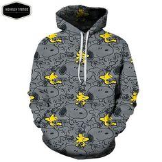 Snoopy Inspired Hoodie Design J