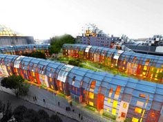 This urban regeneration project in Nottingham aims to uplift a community scarred by industrialization.