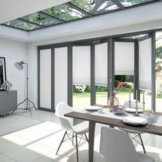 Neat blinds for bifold doors - Clickfit from Blinds2Go