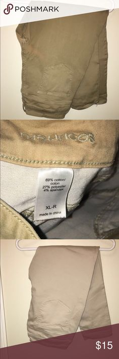 Khaki jeggings Great for work, or having fun! Maurices Pants
