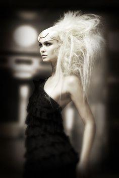 Hairdresser Nicholas French - Matrix Craft Global Academy // Photography Babak //   Makeup Merrell Hollis # avant garde